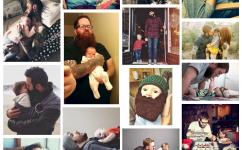 """Dass Babys Bärte mögen, versucht der tumblr-Blog """"Beards And Babies"""" nun zu beweisen. (Screenshot)"""