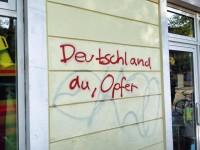 Deutschland-Opfer-Graffiti