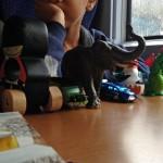 Mit Vorurteilen im Kinderabteil