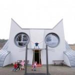 Ein Kindergarten in Katzenform