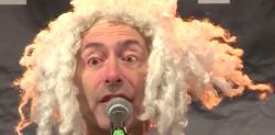 Das ist Mazart, der Mozart aus Marzahn: Fil, der eigentlich aus dem Märkischen Viertel kommt (Screenshot: Facebook/radioeins)